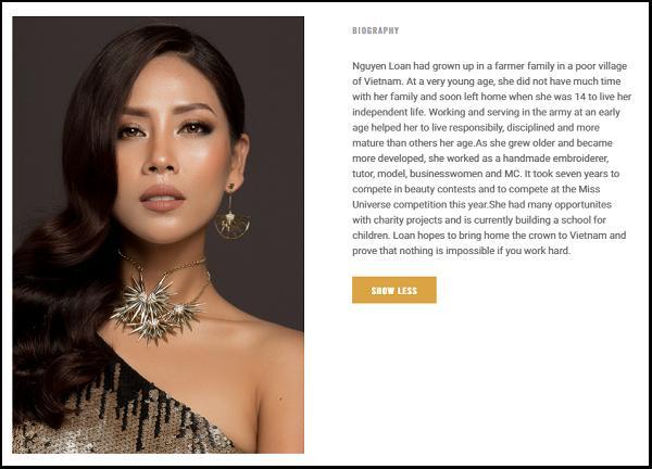 Nguyễn Thị Loan đứng ngoài dự đoán Top 15 mỹ nhân tiềm năng đăng quang Miss Universe 2017-3