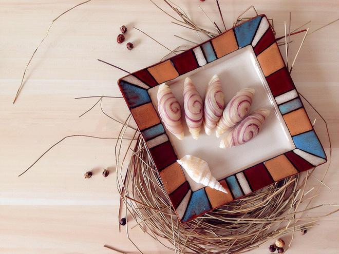 Không cần lò nướng cũng làm được bánh xoắn ốc siêu đẹp siêu ngon-6