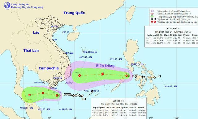 Sẵn sàng sơ tán người khi áp thấp mạnh thành bão ập vào Sài Gòn-1