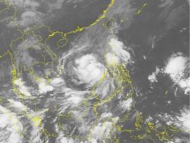 Tin bão mới nhất: Bão số 12 (Damrey) giật cấp 14 hướng thẳng vào Nam Trung Bộ