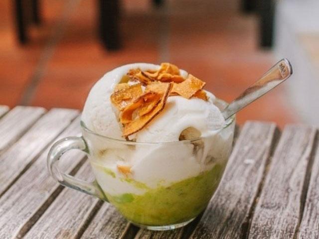 Hướng dẫn cách làm kem bơ Đà Lạt-1