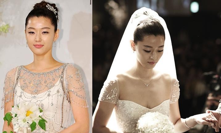 Cùng mặc váy cưới triệu đô, sao Hàn nào mới là nữ hoàng trong ngày trọng đại?-2