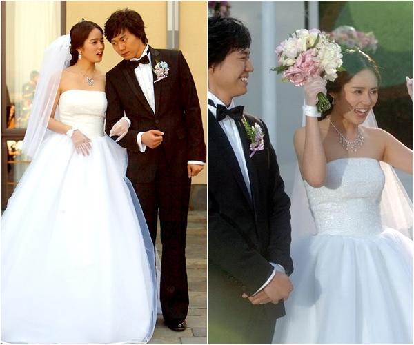 Cùng mặc váy cưới triệu đô, sao Hàn nào mới là nữ hoàng trong ngày trọng đại?-7