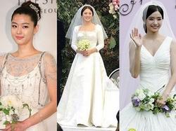 Cùng mặc váy cưới triệu đô, sao Hàn nào mới là 'nữ hoàng' trong ngày trọng đại?