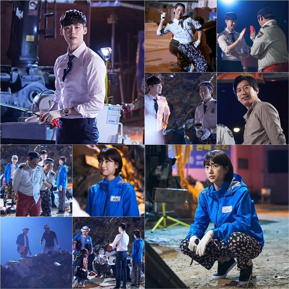 Khi nàng say giấc: Ảnh hậu trường cực đáng yêu của Lee Jong Suk và Suzy-1