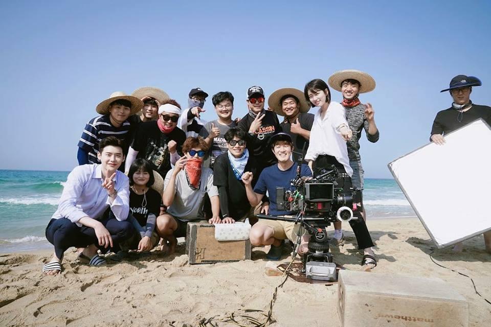Khi nàng say giấc: Ảnh hậu trường cực đáng yêu của Lee Jong Suk và Suzy-8