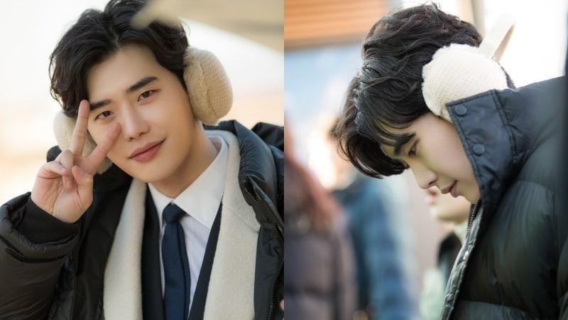 Khi nàng say giấc: Ảnh hậu trường cực đáng yêu của Lee Jong Suk và Suzy-12