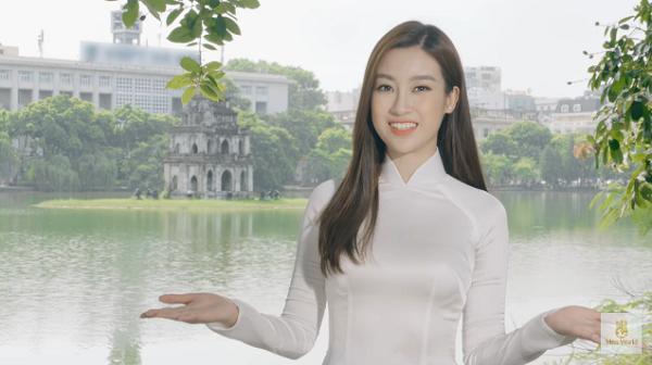 Đỗ Mỹ Linh nói tiếng Anh như gió trong clip giới thiệu bản thân tại Miss World 2017-1