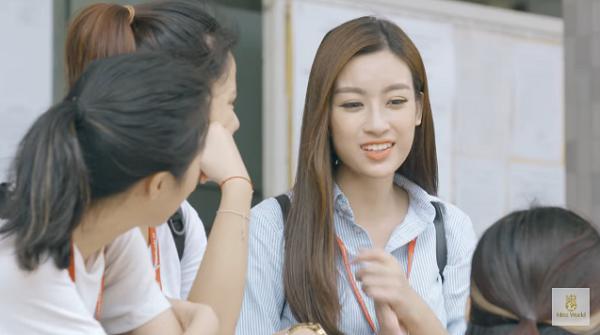Đỗ Mỹ Linh nói tiếng Anh như gió trong clip giới thiệu bản thân tại Miss World 2017-4