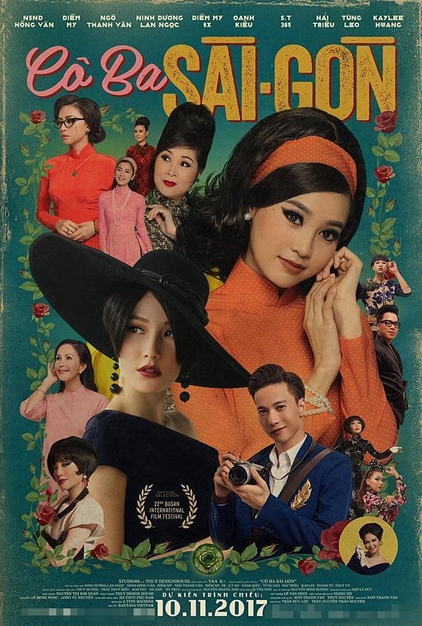 Sau tất cả, S.T đã được lộ diện trên poster phim Cô Ba Sài Gòn-1