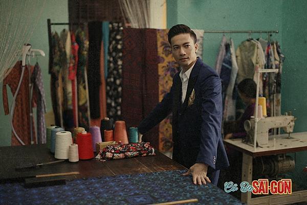 Sau tất cả, S.T đã được lộ diện trên poster phim Cô Ba Sài Gòn-2