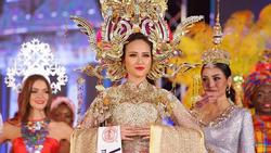 Đi thi trong âm thầm, Khánh Ngân xuất sắc đăng quang Hoa hậu Hoàn cầu 2017