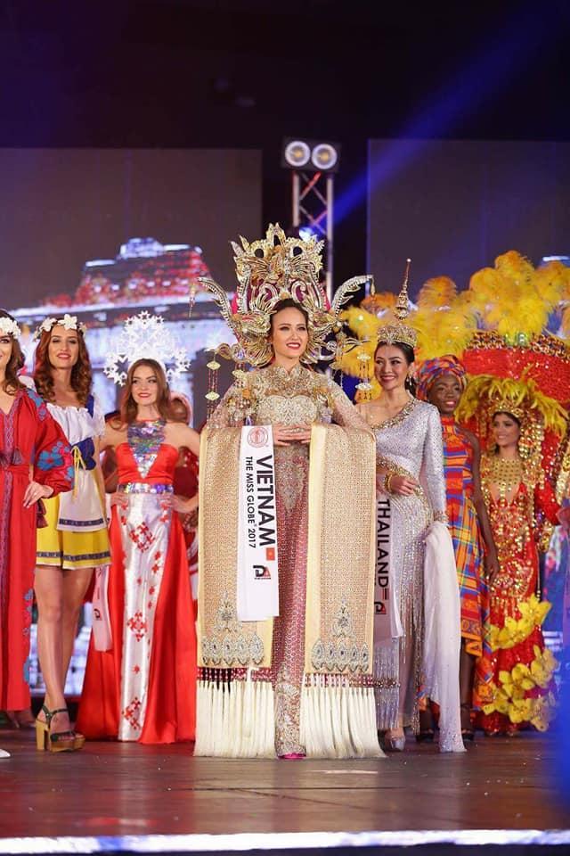 Đi thi trong âm thầm, Khánh Ngân xuất sắc đăng quang Hoa hậu Hoàn cầu 2017-4