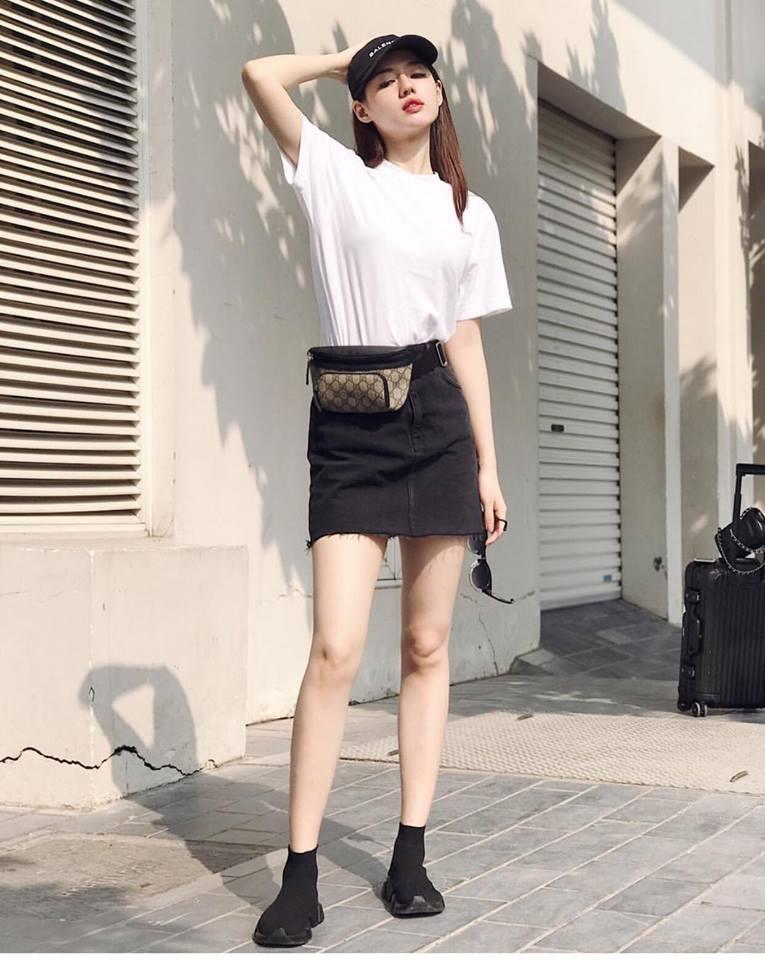 Cùng phải lòng áo trễ vai, Khánh Linh - Quỳnh Anh Shyn diện street style cực bắt mắt-10