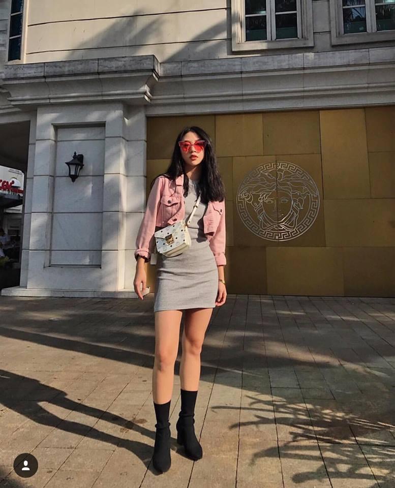Cùng phải lòng áo trễ vai, Khánh Linh - Quỳnh Anh Shyn diện street style cực bắt mắt-7