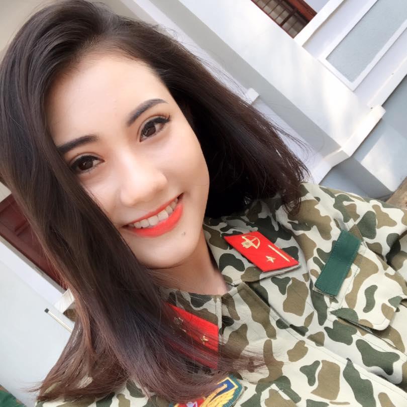 Đã tìm ra hot girl quân nhân gây sốt với bản cover Mong ước kỷ niệm xưa-3