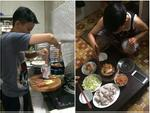 Sự thật bất ngờ về anh chồng nấu trăm món ngon chiều vợ đang được chị em khen nức nở