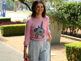 4 cách mặc áo len ngày lạnh của Selena Gomez