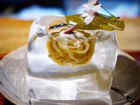 Lạ chưa từng có: Món mì trong băng ngon tê răng ở Nhật
