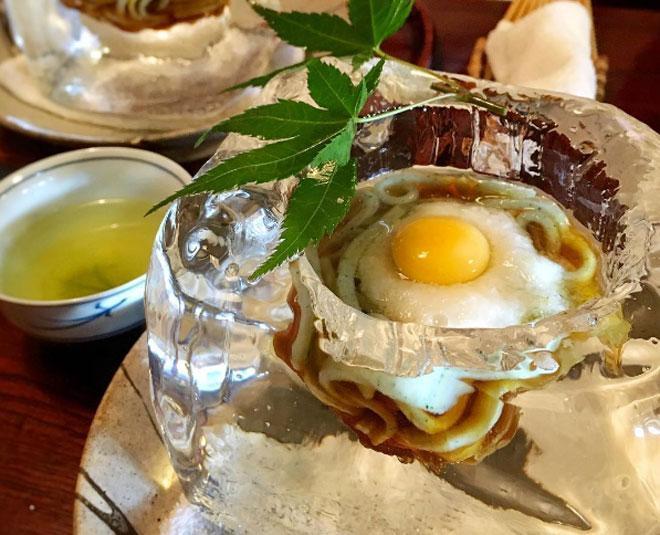Lạ chưa từng có: Món mì trong băng ngon tê răng ở Nhật-2