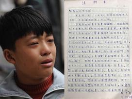 Cảm động cậu bé 12 tuổi bỏ học đi dỡ lạc thuê kiếm tiền chữa bệnh cho mẹ