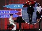 Thần đồng học vượt cấp trổ tài vừa chơi đàn vừa giải toán khiến MC Lại Văn Sâm nể phục