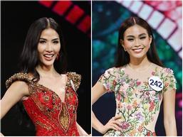 Hoàng Thùy và Mâu thủy tỏa sáng rực rỡ đêm bán kết Hoa hậu Hoàn vũ Việt Nam 2017