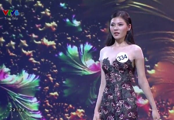 Hoàng Thùy và Mâu thủy tỏa sáng rực rỡ đêm bán kết Hoa hậu Hoàn vũ Việt Nam 2017-12