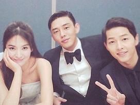 Tâm thư xúc động Yoo Ah In nhắn gửi Song - Song trong hôn lễ: 'Cứ yêu thôi và phớt lờ cả thế giới'