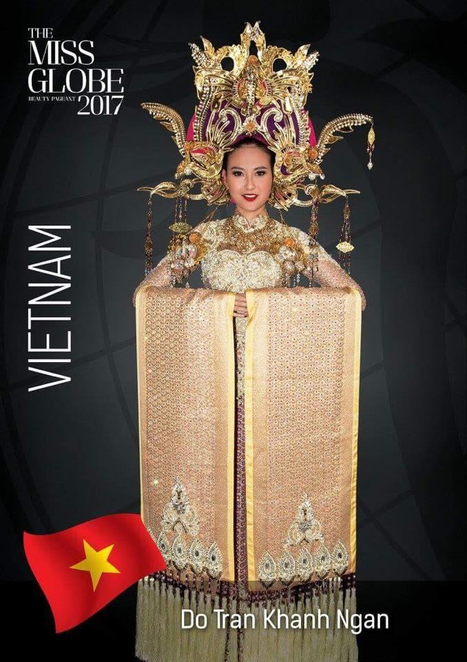 Ngắm nhan sắc và gu thời trang đời thường của Khánh Ngân - tân Hoa hậu Hoàn cầu 2017-2