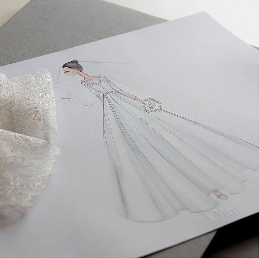 Dior hé lộ những bức hình hiếm có về quá trình tạo nên chiếc váy cưới của Song Hye Kyo-6