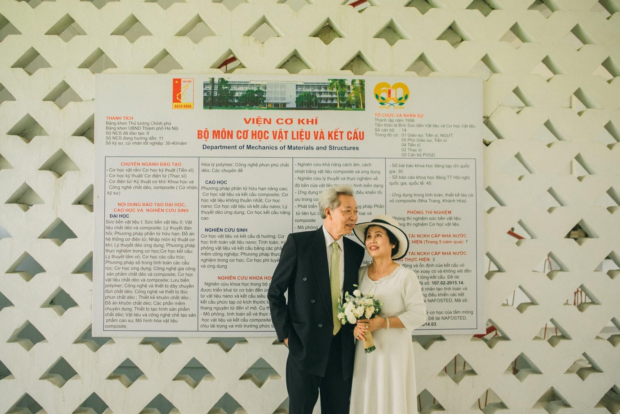Bộ ảnh cưới đầu tiên sau 45 năm kết hôn và chia sẻ xúc động của con trai cho bố mẹ-9