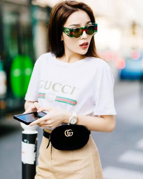 Đụng hàng áo thun Gucci 12 triệu đồng, Tâm Tít khí chất không kém Hà Hồ, Kỳ Duyên-7
