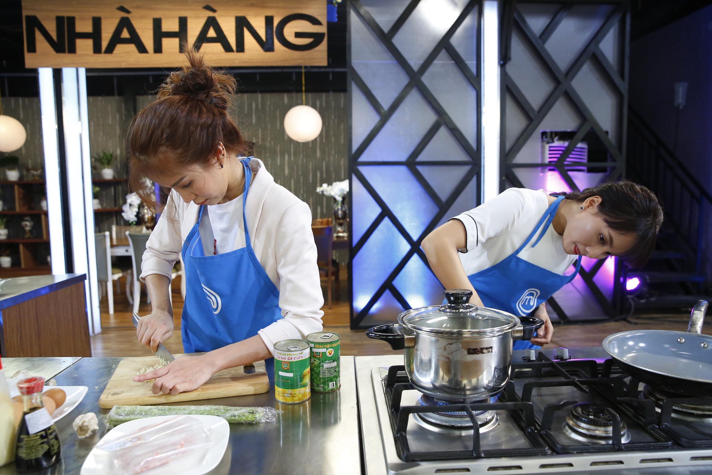 Vua đầu bếp 2017:  Bảo Thanh bất ngờ thất bại trước cô nàng cá tính An Nguy-3