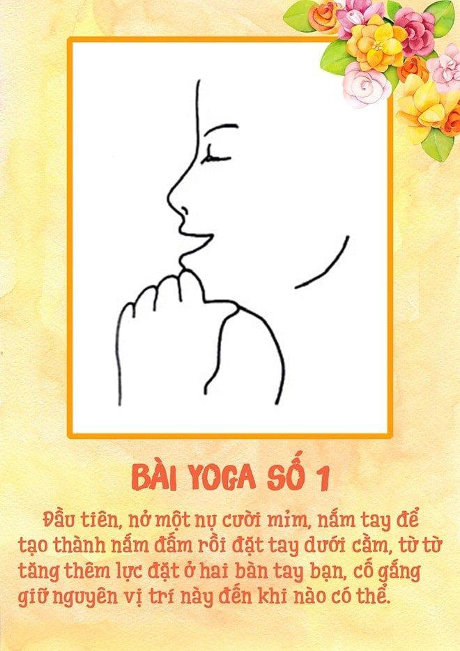 Tập yoga cho khuôn mặt - nghe thì lạ nhưng lại dễ không tưởng luôn!-2