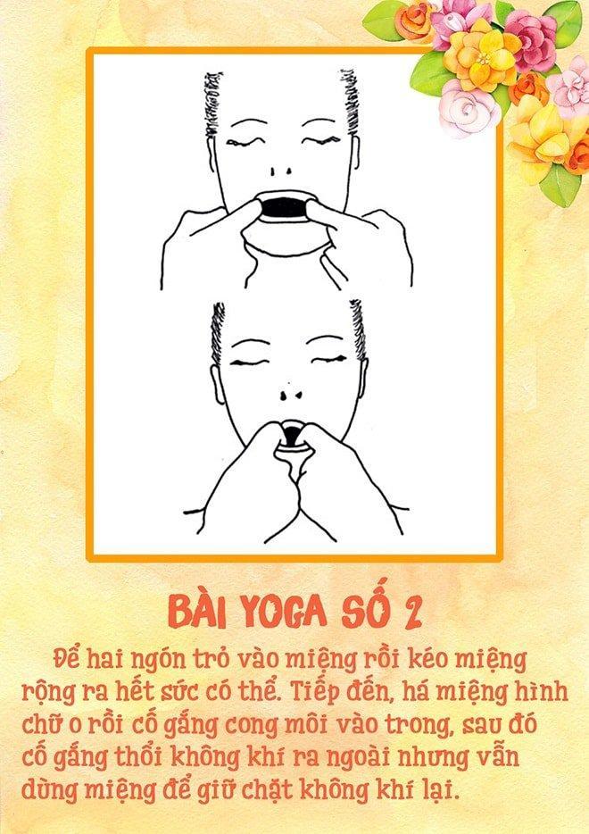 Tập yoga cho khuôn mặt - nghe thì lạ nhưng lại dễ không tưởng luôn!-3