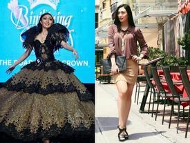Chẳng những già và kém sắc, gu thời trang của Hoa hậu Trái đất 2017 cũng khiến người ta giật mình
