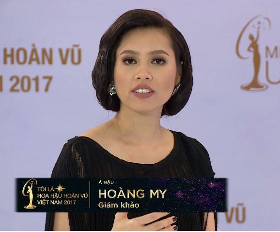 Hoàng My cảnh báo thí sinh Hoa hậu Hoàn vũ Việt Nam không được hối lộ ban giám khảo-3