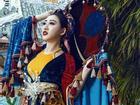 Huỳnh Thúy Anh hóa thân thành hoàng hậu