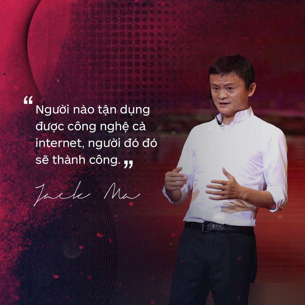 Loạt phát ngôn đầy cảm hứng của tỷ phú Jack Ma vừa gửi đến các bạn trẻ Việt Nam-2