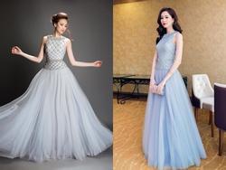 Hoa hậu Khánh Ngân không thua kém khi diện lại trang phục của đàn chị Đặng Thu Thảo