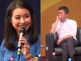 Chân dung cô hoa khôi sinh viên được ngồi cạnh và phỏng vấn trực tiếp Jack Ma ngày hôm nay
