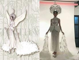 Lộ diện trang phục dân tộc của Á hậu Thùy Dung tại Hoa hậu Quốc tế 2017