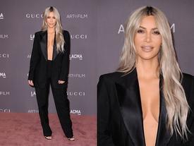Lần đầu tiên trong lịch sử, Kim Kardashian 'thả rông', hở bạo mà vẫn đẹp xuất sắc