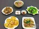 Mâm cơm chiều ngon cho 5 người ăn no nê