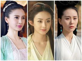Triệu Lệ Dĩnh vượt mặt Angela Baby đứng đầu Top 10 mỹ nhân màn ảnh 2017