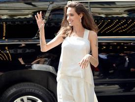 Tăng cân trở lại, Angelina Jolie thường xuyên nhận lời khen vì mặc đẹp