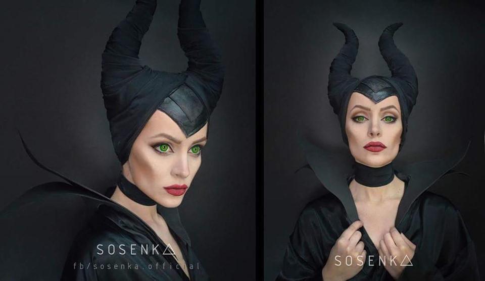 Cô gái có 100.000 fan nhờ tài make up kinh dị, cosplay giống y bản gốc-2