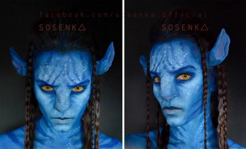 Cô gái có 100.000 fan nhờ tài make up kinh dị, cosplay giống y bản gốc-4