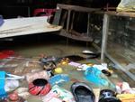 Chùm ảnh: Rùng mình phố cổ Hội An ngập ngụa rác thải sau lũ